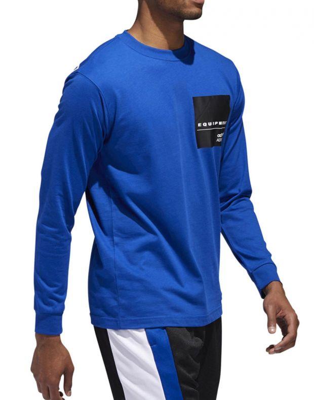 ADIDAS Eqt Long Sleeve T-Shirt Blue - DH5229 - 3