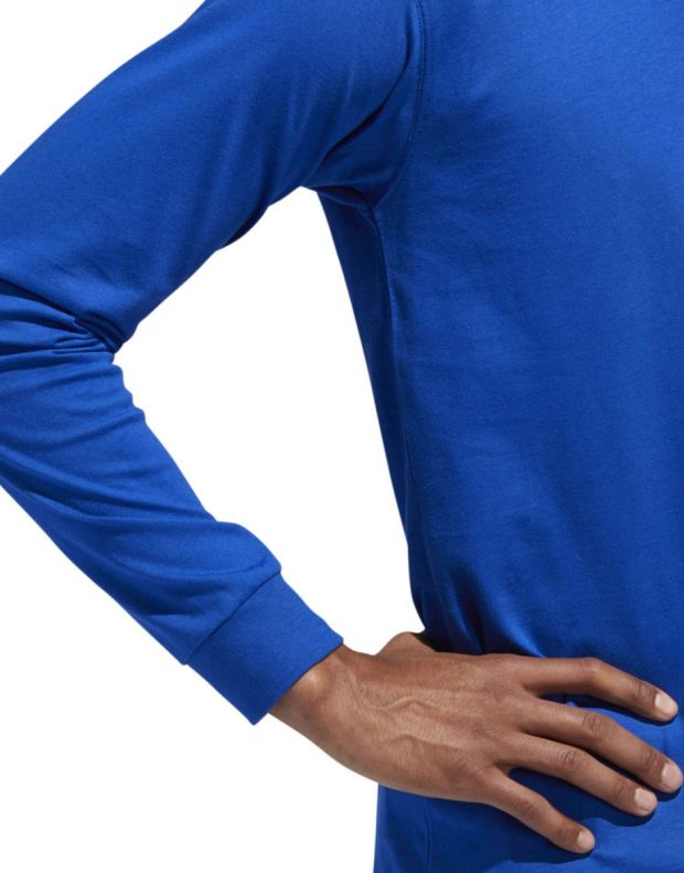 ADIDAS Eqt Long Sleeve T-Shirt Blue - DH5229 - 4