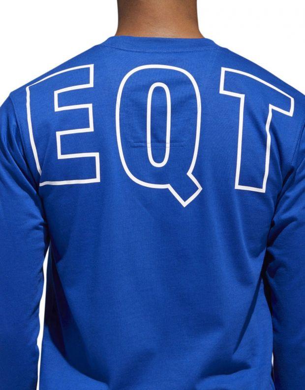 ADIDAS Eqt Long Sleeve T-Shirt Blue - DH5229 - 5
