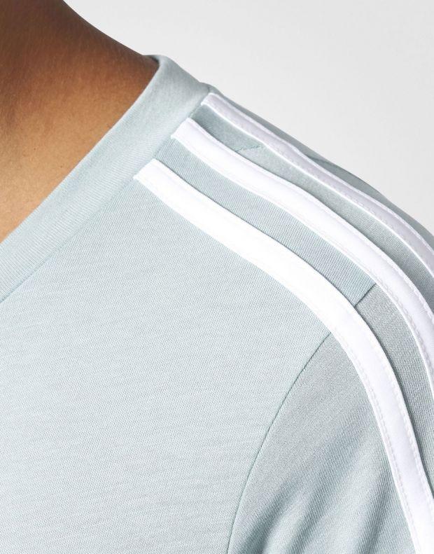 ADIDAS Essentials 3-Stripes Tee Green - BR2460 - 4