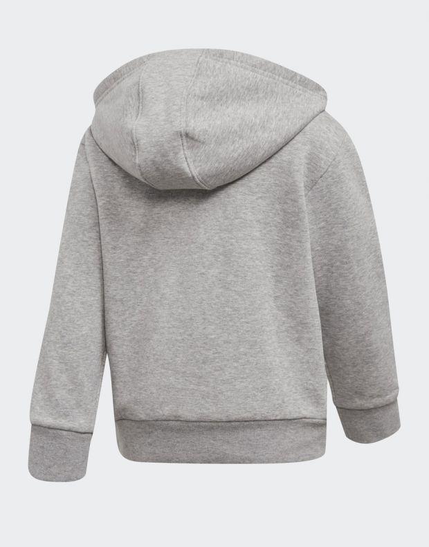 ADIDAS Fleece Hoodie Set Grey - DV2843 - 3