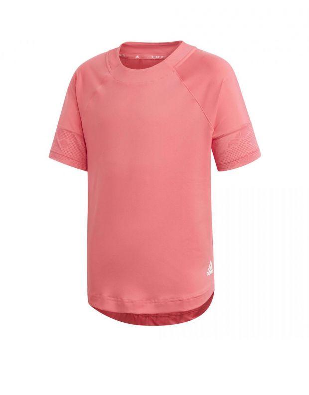 ADIDAS Flock Tee Pink - ED6315 - 1