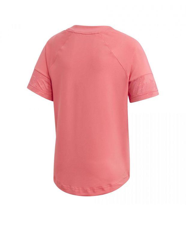 ADIDAS Flock Tee Pink - ED6315 - 2
