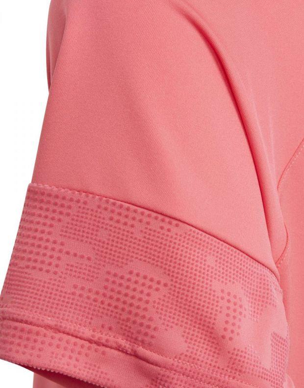ADIDAS Flock Tee Pink - ED6315 - 5