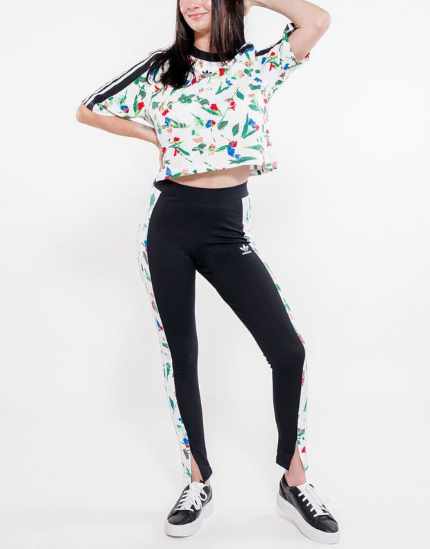 ADIDAS Floral Leggings Black - ED4758 - 4