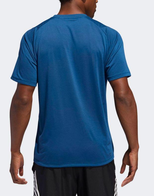 ADIDAS FreeLift Sport Prime Lite Tee Blue - 2