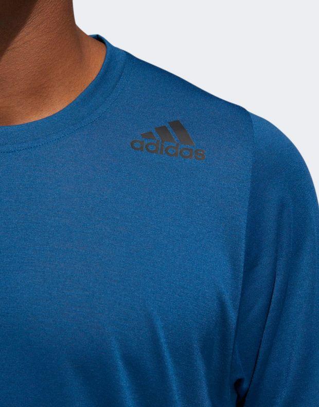 ADIDAS FreeLift Sport Prime Lite Tee Blue - 4