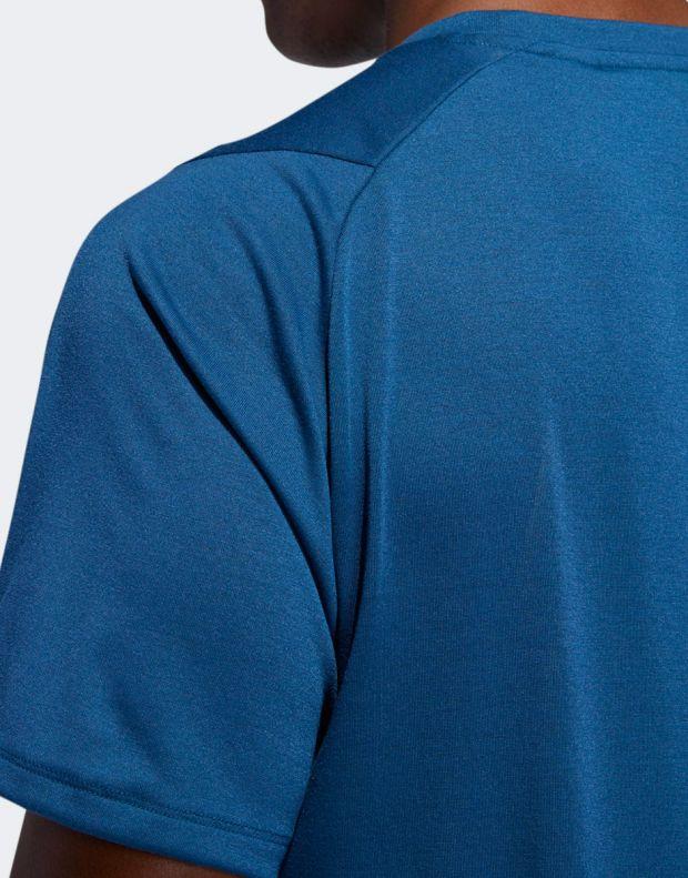 ADIDAS FreeLift Sport Prime Lite Tee Blue - 6