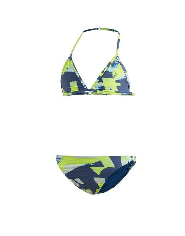 ADIDAS Girls Allover Print Swim Suit Multi - DQ3382 - 1