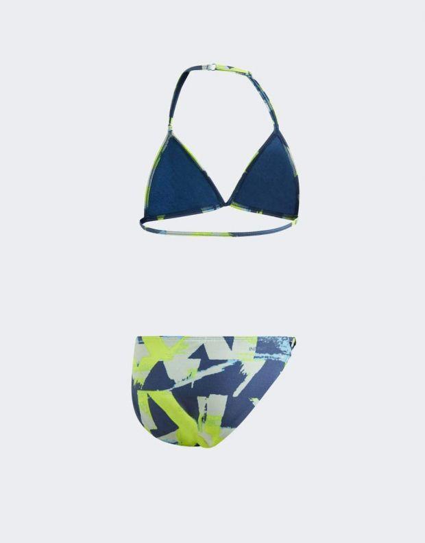 ADIDAS Girls Allover Print Swim Suit Multi - DQ3382 - 2