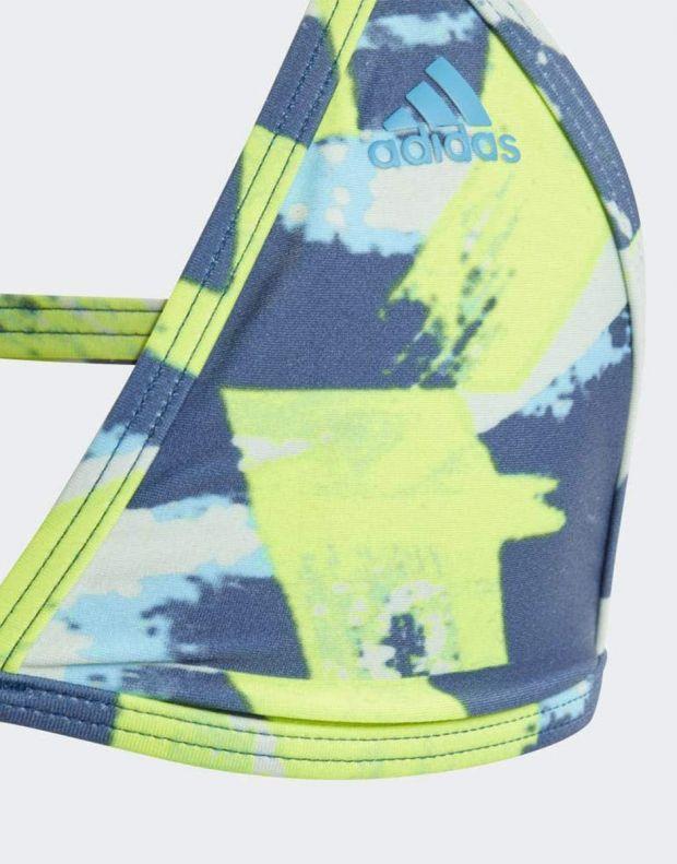 ADIDAS Girls Allover Print Swim Suit Multi - DQ3382 - 5