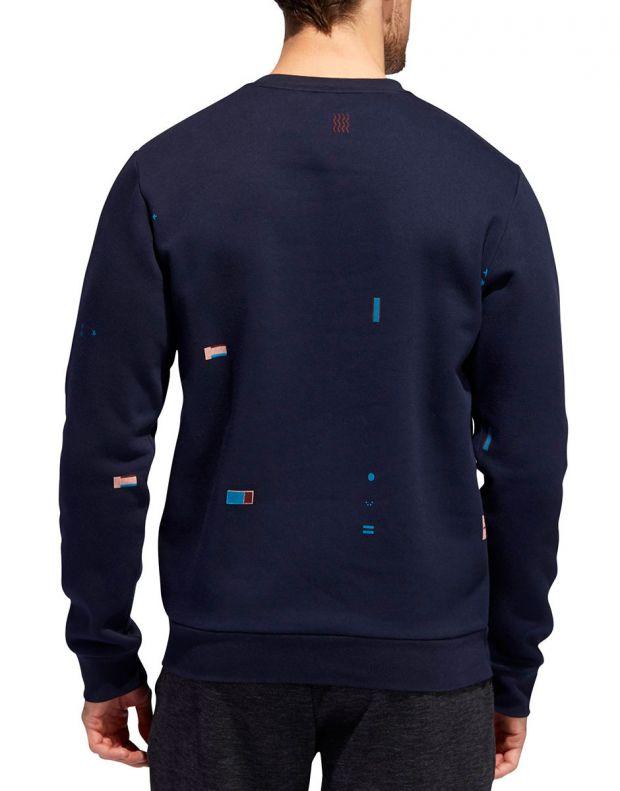 ADIDAS Global Citizens Crew Sweatshirt Navy - ED8322 - 2
