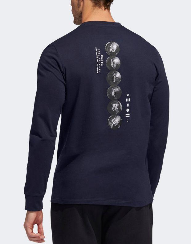 ADIDAS Global Citizens T-Shirt Navy - ED8304 - 2