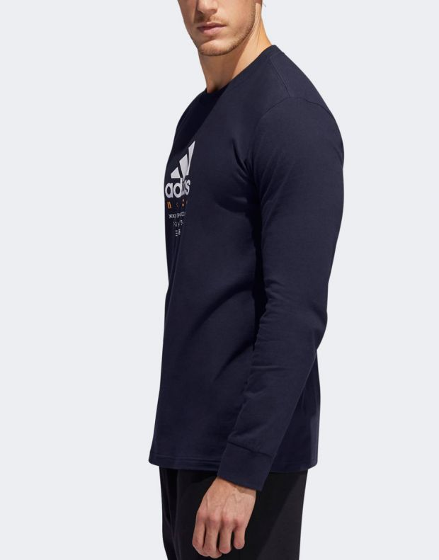 ADIDAS Global Citizens T-Shirt Navy - ED8304 - 4