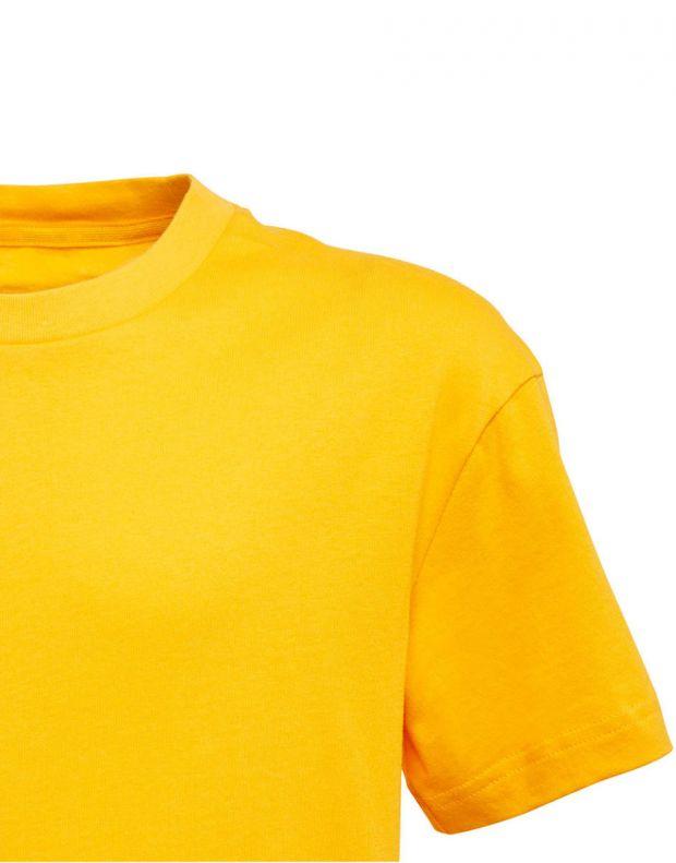 ADIDAS Graphic Printed Tee Yellow - ED6430 - 3