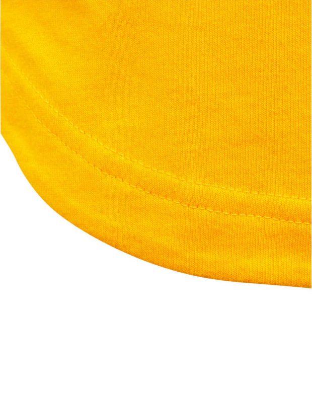 ADIDAS Graphic Printed Tee Yellow - ED6430 - 4