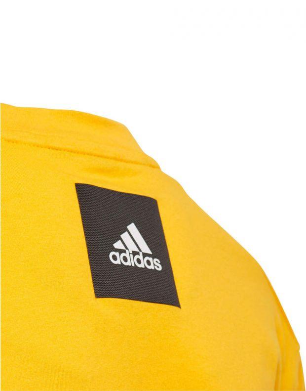ADIDAS Graphic Printed Tee Yellow - ED6430 - 5