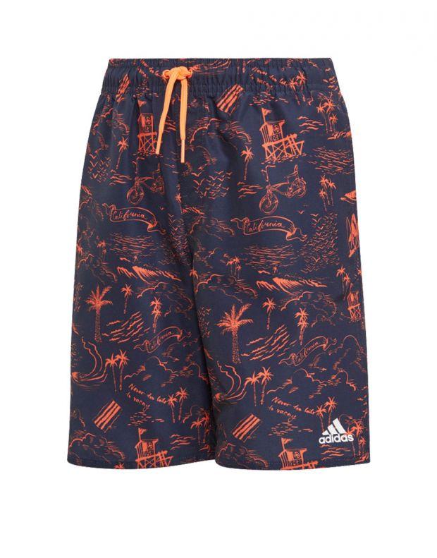 ADIDAS Graphic Swim Shorts - DQ3030 - 1