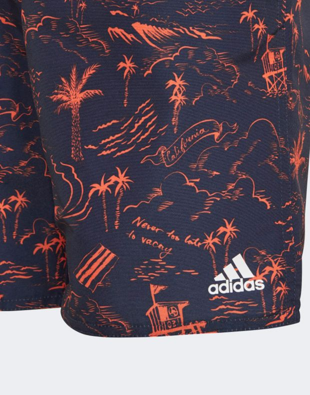 ADIDAS Graphic Swim Shorts - DQ3030 - 3