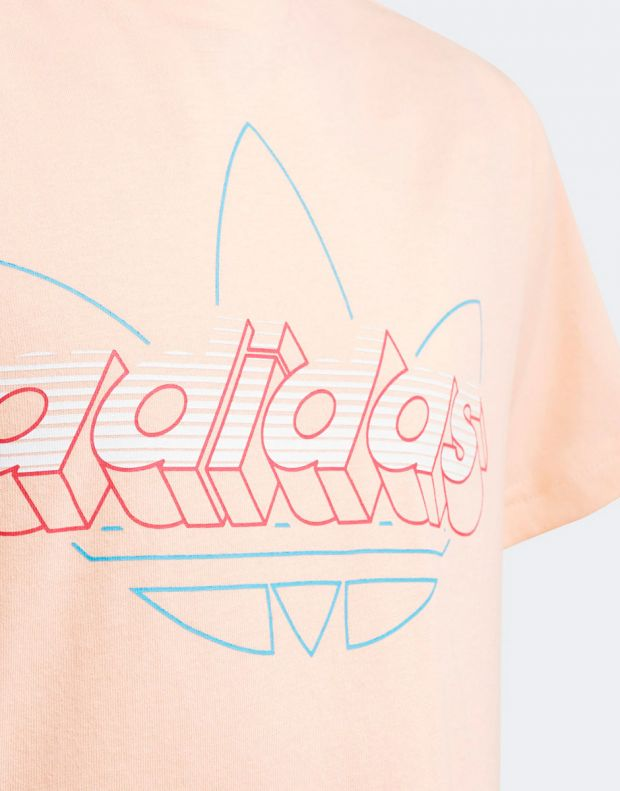 ADIDAS Graphic Tee Coral - GD2869 - 3