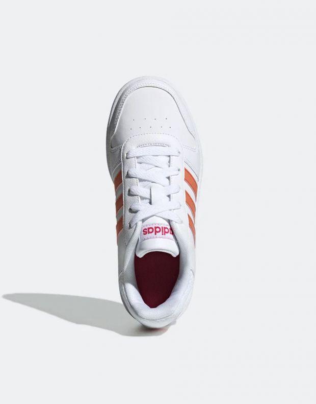 ADIDAS Hoops 2.0 K White - EE6721 - 4