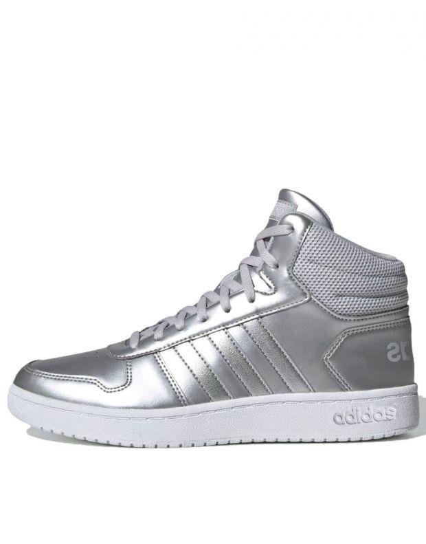 ADIDAS Hoops Mid 2.0 Sneakers Silver - EE7857 - 1