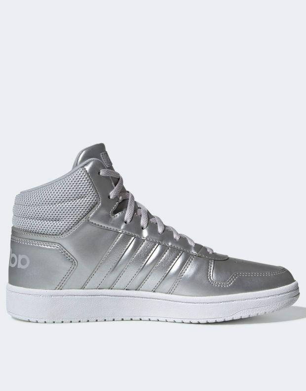 ADIDAS Hoops Mid 2.0 Sneakers Silver - EE7857 - 2