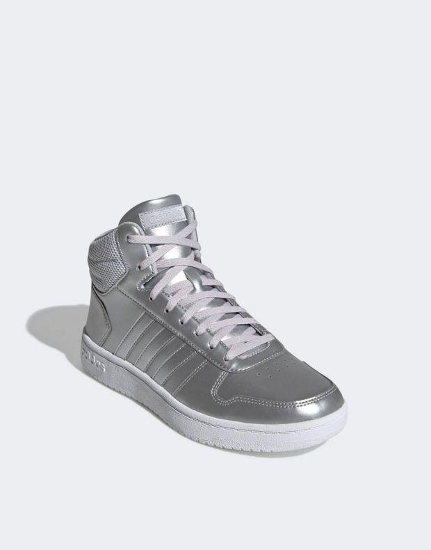 ADIDAS Hoops Mid 2.0 Sneakers Silver - EE7857 - 4