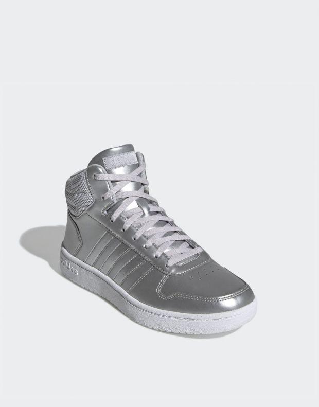 ADIDAS Hoops Mid 2.0 Sneakers Silver - EE7857 - 3