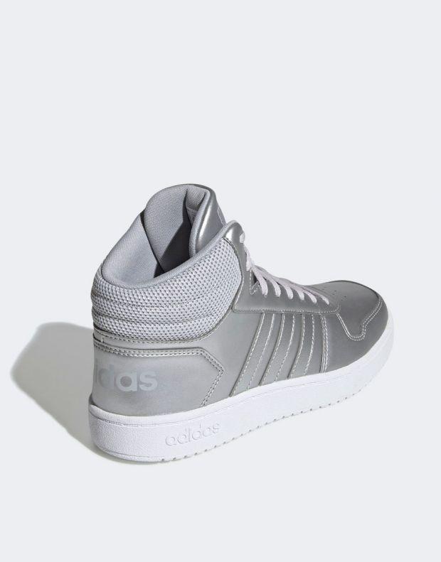 ADIDAS Hoops Mid 2.0 Sneakers Silver - EE7857 - 5