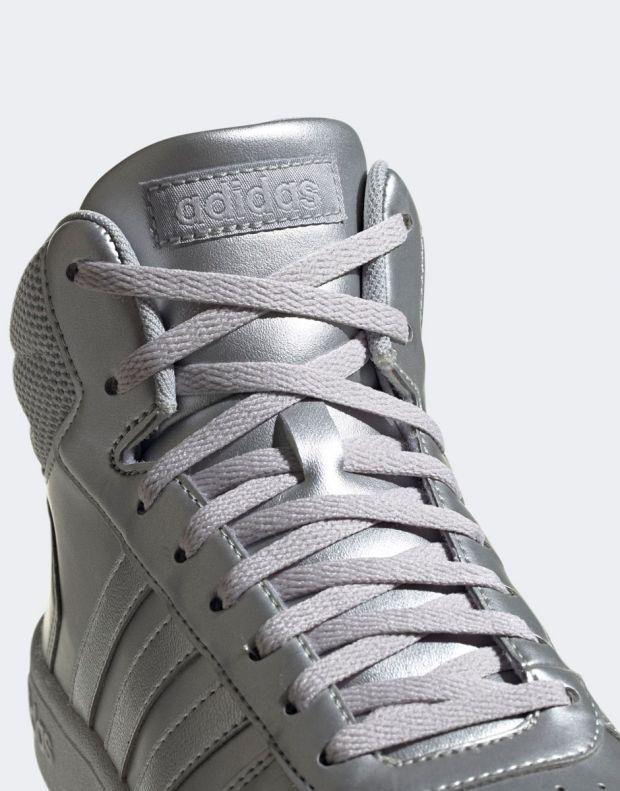 ADIDAS Hoops Mid 2.0 Sneakers Silver - EE7857 - 8
