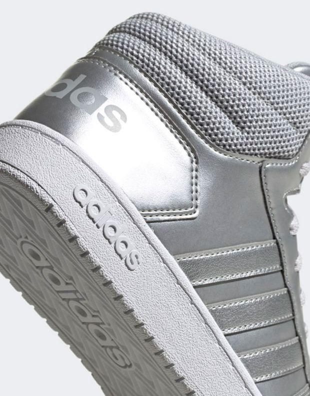 ADIDAS Hoops Mid 2.0 Sneakers Silver - EE7857 - 9