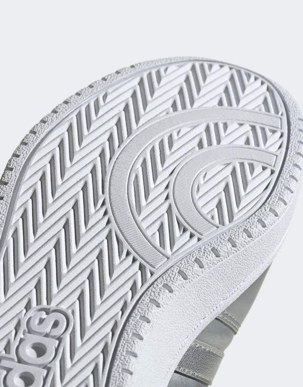 ADIDAS Hoops Mid 2.0 Sneakers Silver - EE7857 - 10