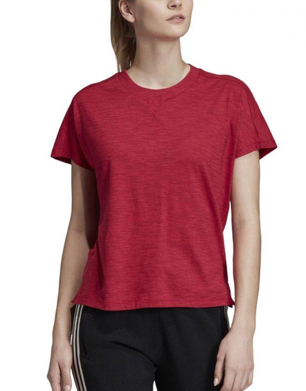 ADIDAS ID Winners Att-Shirttude Tee Red - DZ2478 - 1