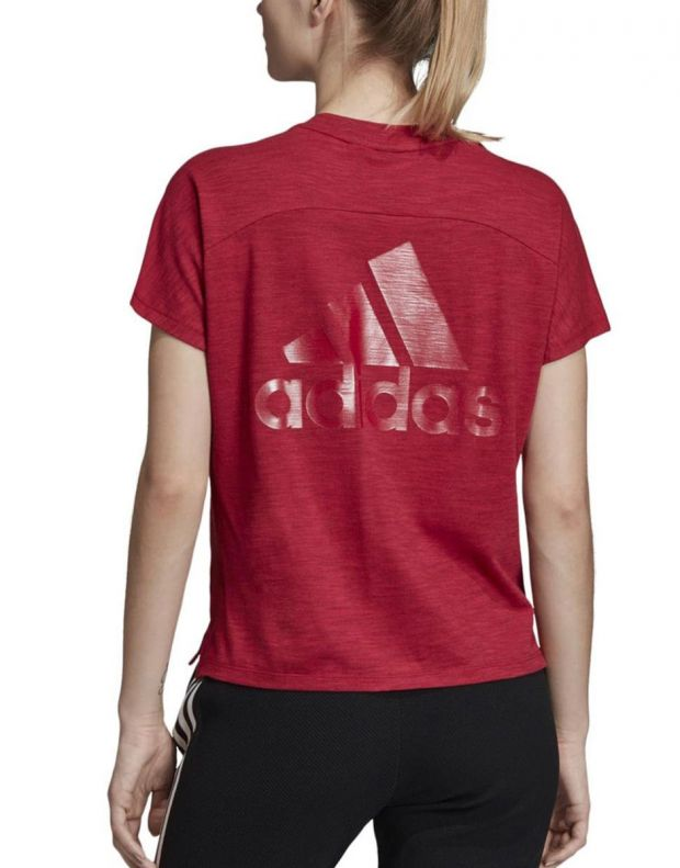 ADIDAS ID Winners Att-Shirttude Tee Red - DZ2478 - 2