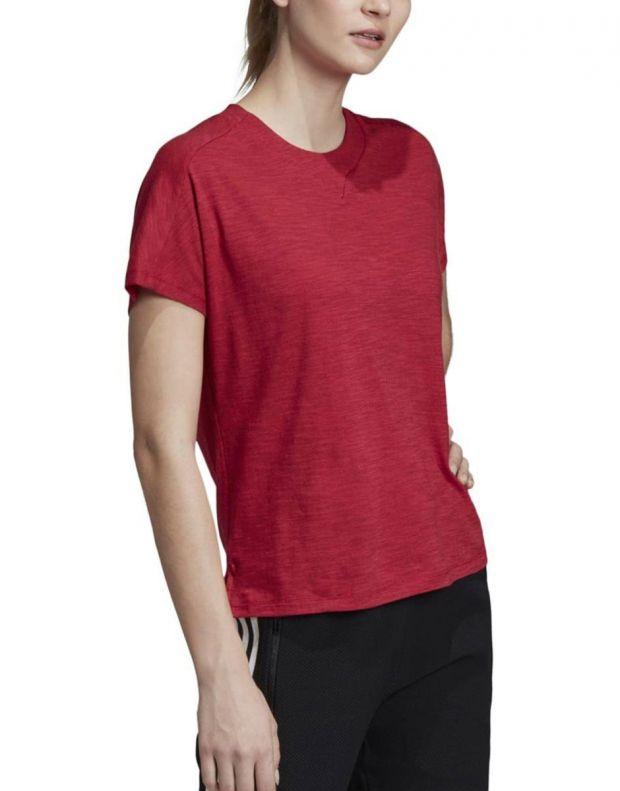 ADIDAS ID Winners Att-Shirttude Tee Red - DZ2478 - 3