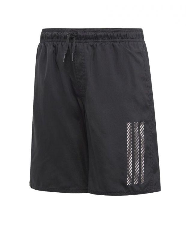 ADIDAS Kids 3-Stripes Swim Shorts Black - DQ3004 - 1