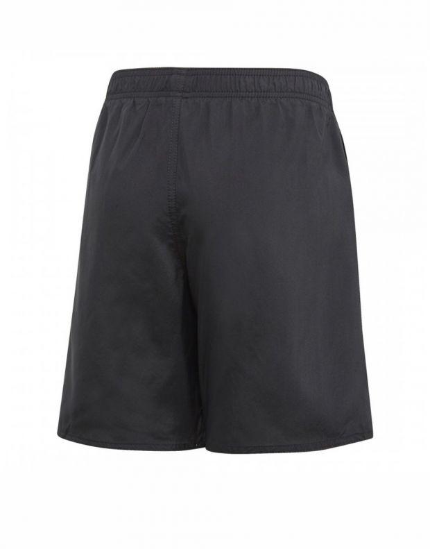 ADIDAS Kids 3-Stripes Swim Shorts Black - DQ3004 - 2