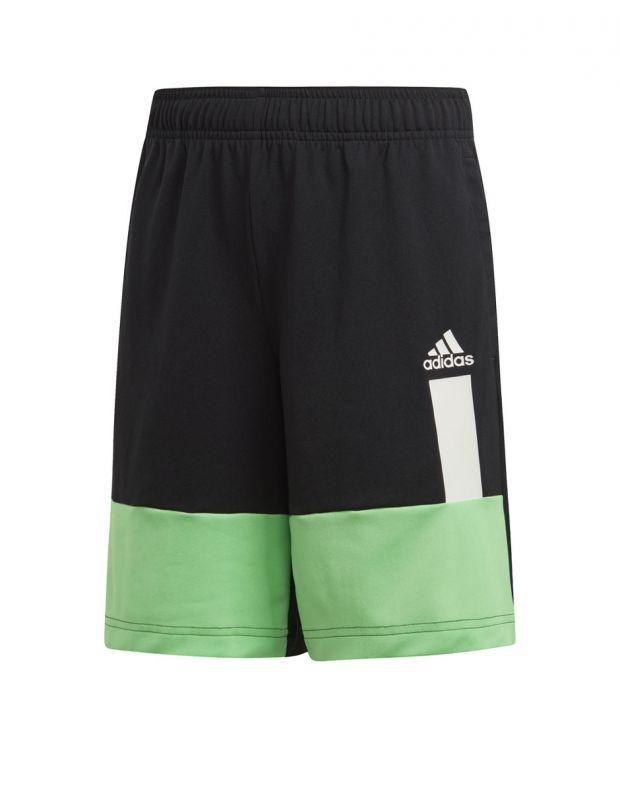 ADIDAS Kids Colour Block Shorts Black - DV1372 - 1