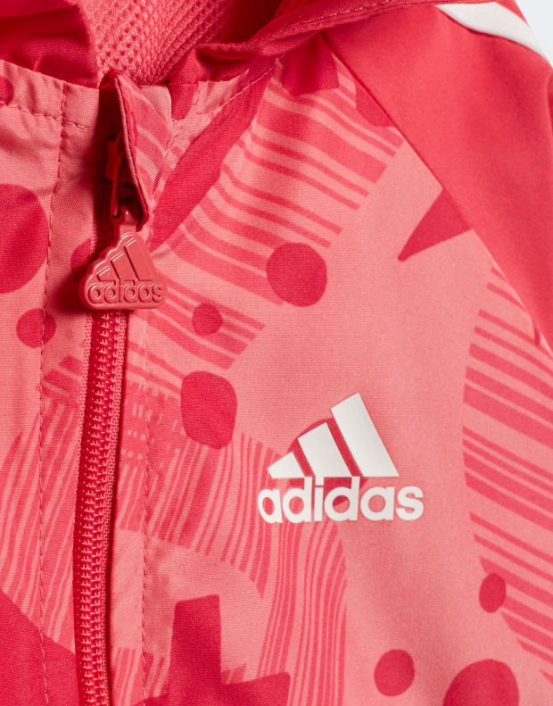 ADIDAS Leisure Gym Suit Pink - CF7397 - 5