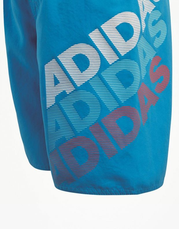 ADIDAS Lineage Swim Shorts Blue - 2