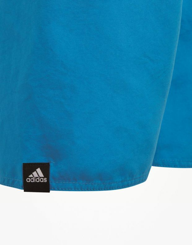 ADIDAS Lineage Swim Shorts Blue - 3