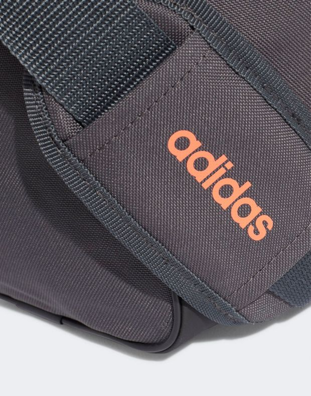ADIDAS Linear Duffel Bag Grey - 4