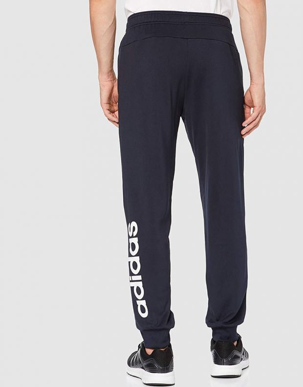 ADIDAS Linear French Terry Hoodie Tracksuit Navy - DV2450 - 4