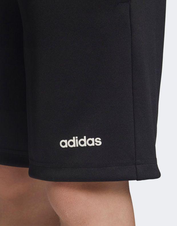 ADIDAS Linear Knit Shorts Black - DV2923 - 6