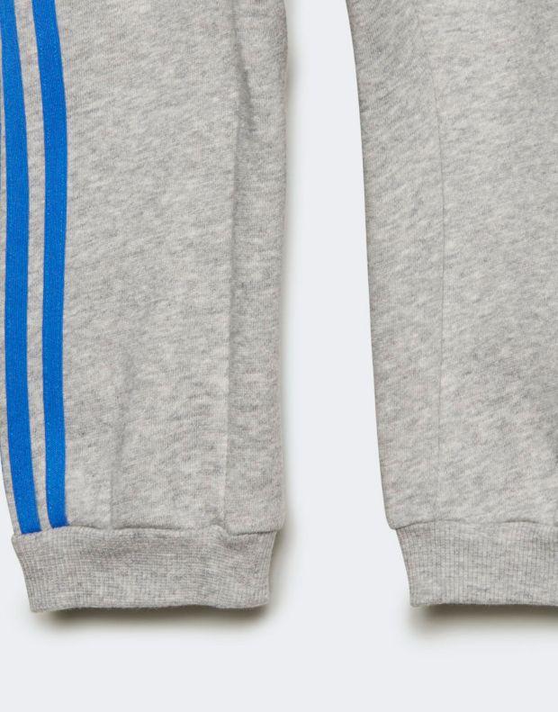ADIDAS Logo Fleece Jogger Set Blue - ED1159 - 8