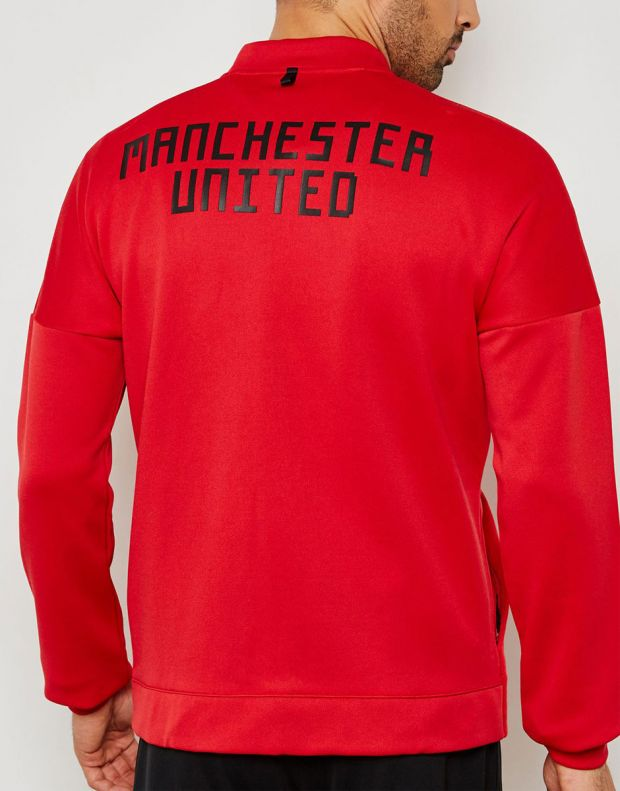 ADIDAS Mancherster United Z.N.E Hoodie Red - CW7670 - 2