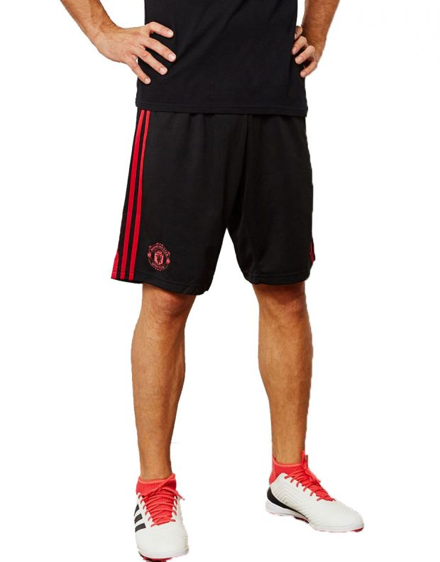 ADIDAS Manchester United 3S Shorts Black - CW7601 - 1