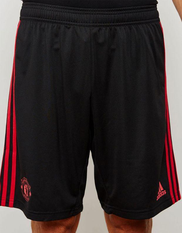 ADIDAS Manchester United 3S Shorts Black - CW7601 - 4