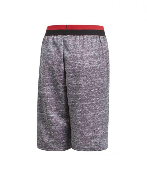 ADIDAS Manchester United Knit Kids Shorts Grey - CV6187 - 2